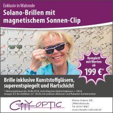 Exclusiv in Walsrode – Solano – Brillen mit Magnet-Sonnenclip