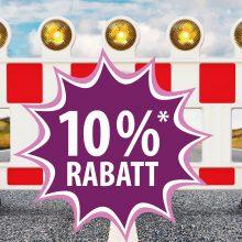 10 % Baustellen-Rabatt*