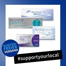 Kostenfreier Versand von Kontaktlinsen – #supportyourlocal