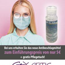 Antibeschlagmittel + gratis Pflegetuch