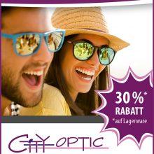 SSV bei City Optic auf alle vorrätigen Sonnenbrillen
